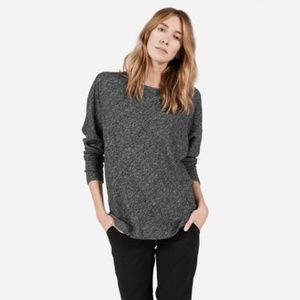 Everlane Gray Wool Blend Crew Neck Sweater Size XS